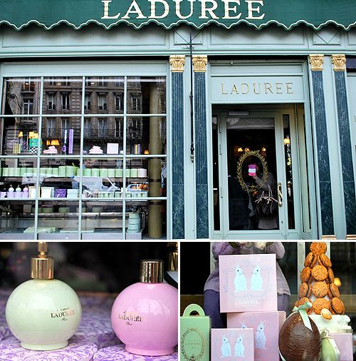 The famous Laduree confectionary house