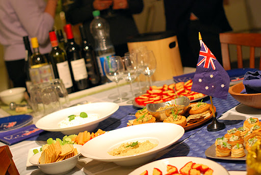 Australia Day celebration in Basel, Switzerland with Expat Kochen