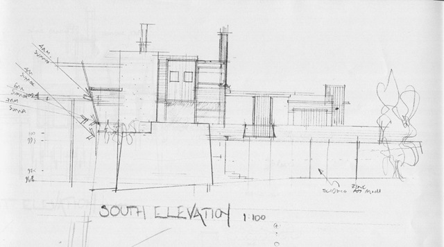 Hornby 2 South Elevation