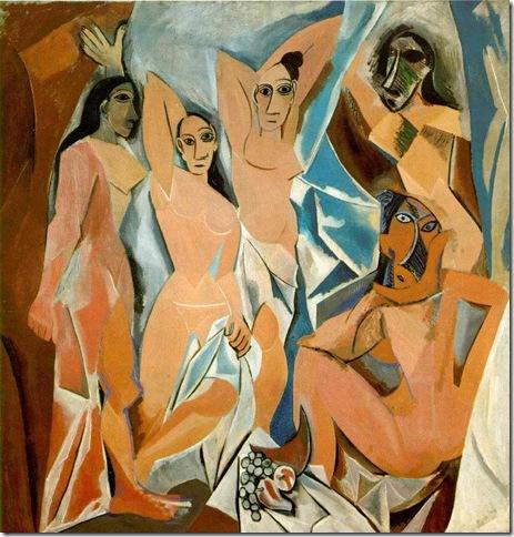 Les Demoiselles dAvignon