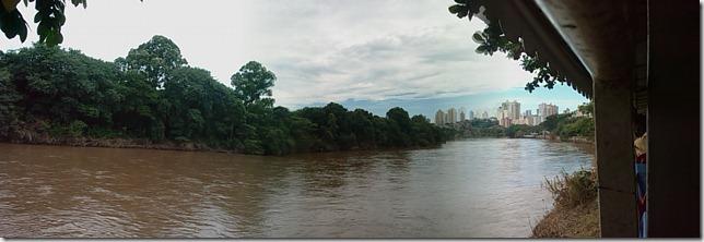Vista do Rio Piracicaba na Rua do Porto