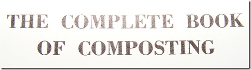 The Complete Book of Composting