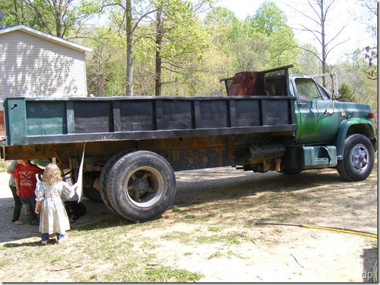 manure hauling monster
