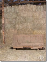 more hay in th barn loft
