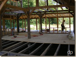 subfloor going down