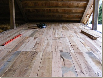 upstairs subfloor