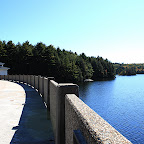 Nepaug Reservoir Dam in Canton, CT photo