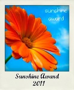 sunshine Award 2010