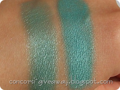 Giveaway-Minerale-Puro-make-up-Ombretto-Egitto-Swatch-Asciutto-Bagnato