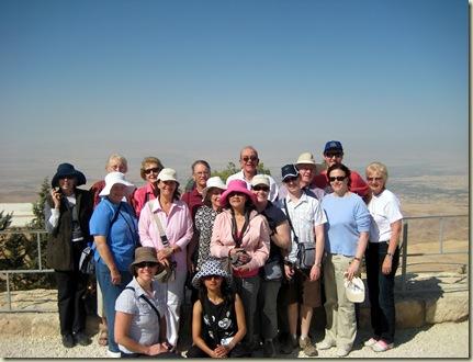 Group at Mt Nebo