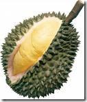 durian öppnad