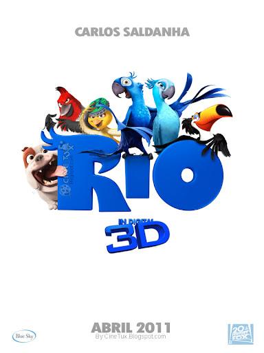 Rio - 2011 - 3D - Cover - Caratula