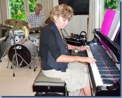 Carole Littlejohn and Ian Jackson jazzing it up a little