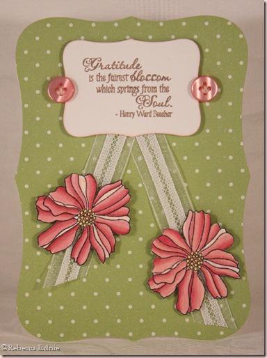 gratitude floral