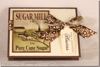 gracious hostess sugar