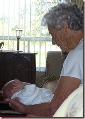gramma harris and baby s2