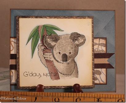 koala gday 5th card
