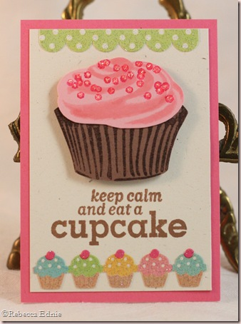 cupcake ATC basic grey