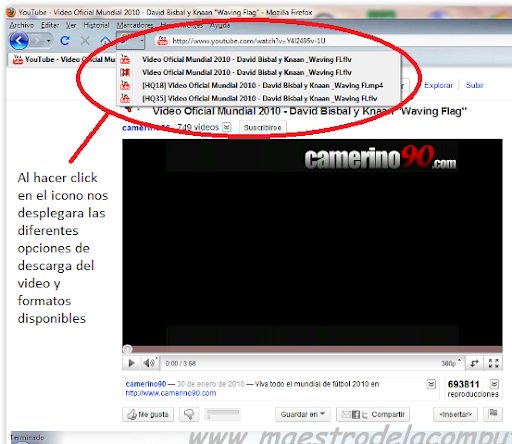 Descarga Videos de Youtube