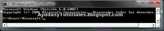 DOS - Prompt - AyudasyTutoriales