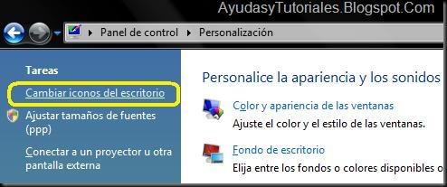 Personalizacion - AyudasyTutoriales