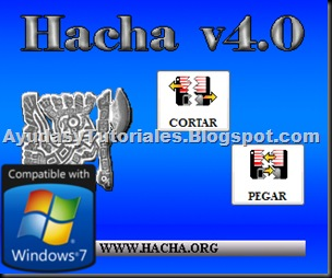 Hacha v4 - Compatible con Windows 7 - AyudasyTutoriales