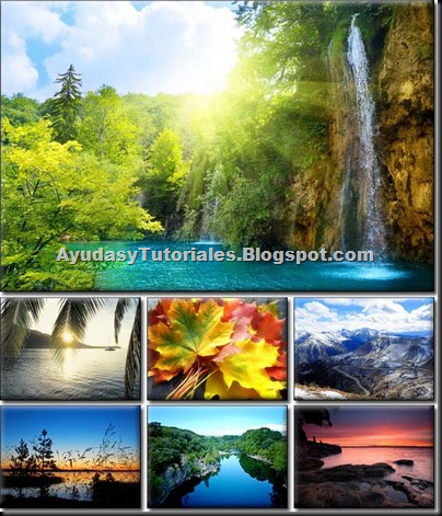 Wallpapers de Naturaleza - AyudasyTutoriales