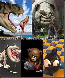 Wallpapers Humor 3D - AyudasyTutoriales