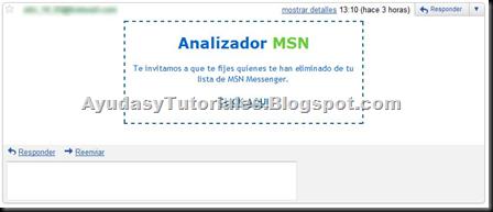 Analizador MSN - AyudasyTutoriales