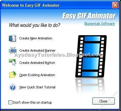 Easy GIF Animator - AyudasyTutoriales