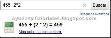 Funciones Google - 2 - Calculadora