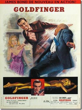 Goldfinger poster 9