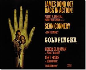 Goldfinger poster 12