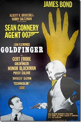 Goldfinger poster 17