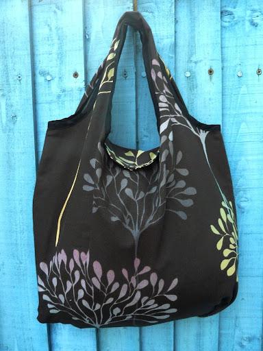 Crafty Ady: The fold-away shopping bag tutorial