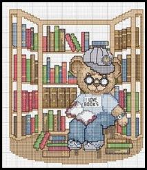 urso estudante
