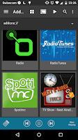 Screenshot of Music Pump Kodi Remote (XBMC)