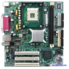 Placa mãe Intel D845GVFN