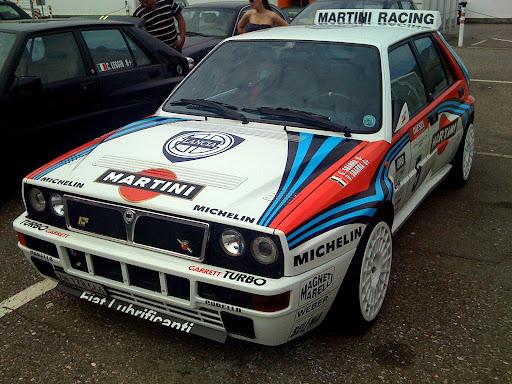 Lancia Delta EVO racing