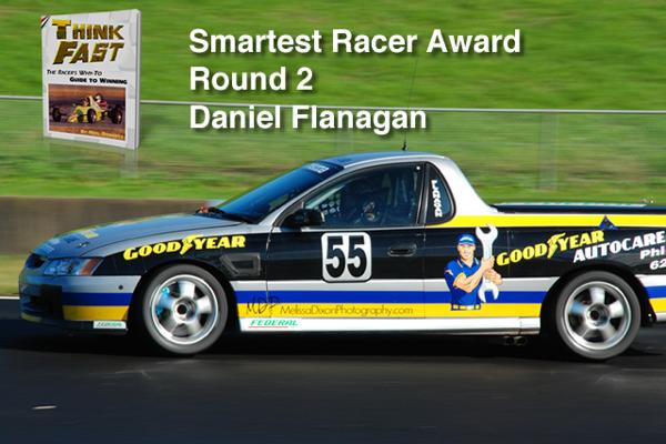 Smartest Racer Award Round 2 Daniel Flanagan