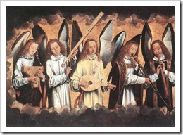 Angels Making Music-Hans Memling-low