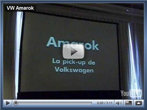 Vídeo – Apresentação do nome Amarok na Argentina