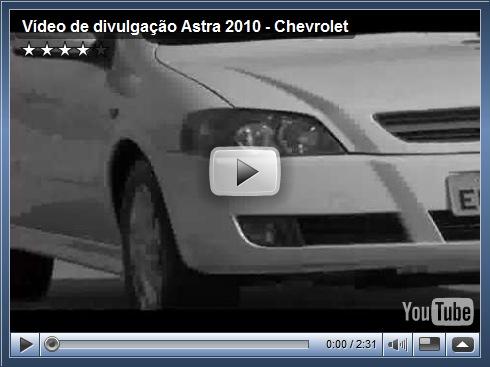 Vídeo de divulgação do Astra 2010