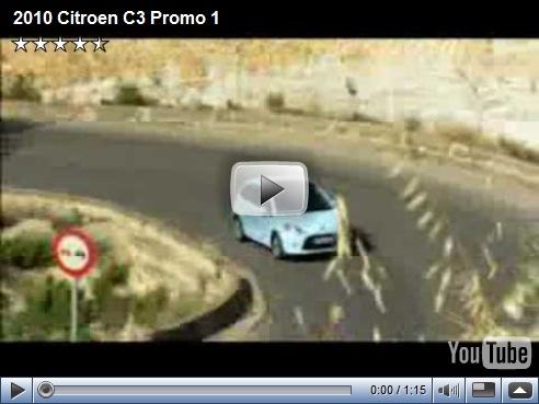 Video de divulgação do novo Citroën C3