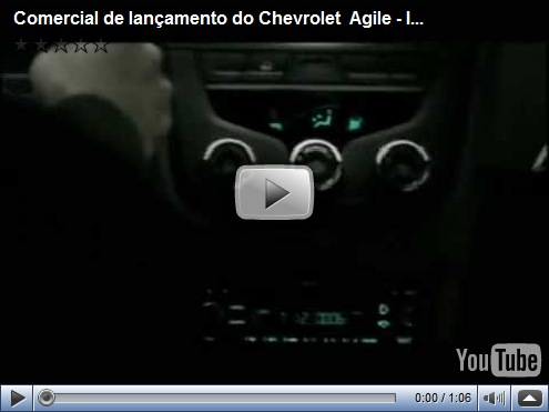 Video – Comercial de lançamento do Chevrolet Agile