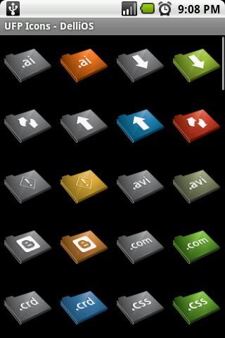 【免費個人化App】UFP Icons - DelliOS-APP點子