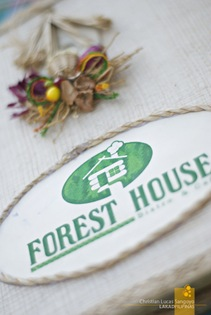 The Forest House Menu