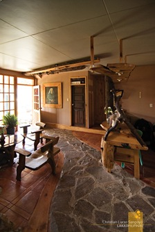 The Main Lobby at Sagada's St. Joseph Resthouse