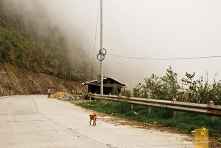 Rising Clouds at Mt. Pulis