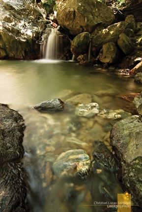 Abra de Ilog's Apyas Waterfalls